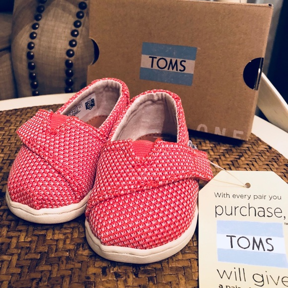 edb7af7979 Toms Shoes | Classics Baby Girl Size Tiny 3 New In Box | Poshmark